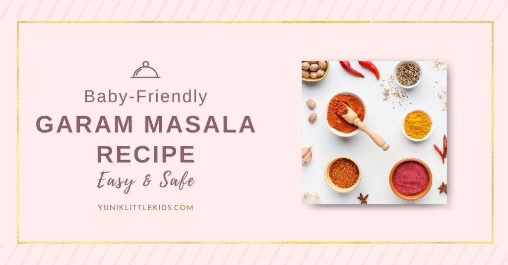 Garam masala for kids