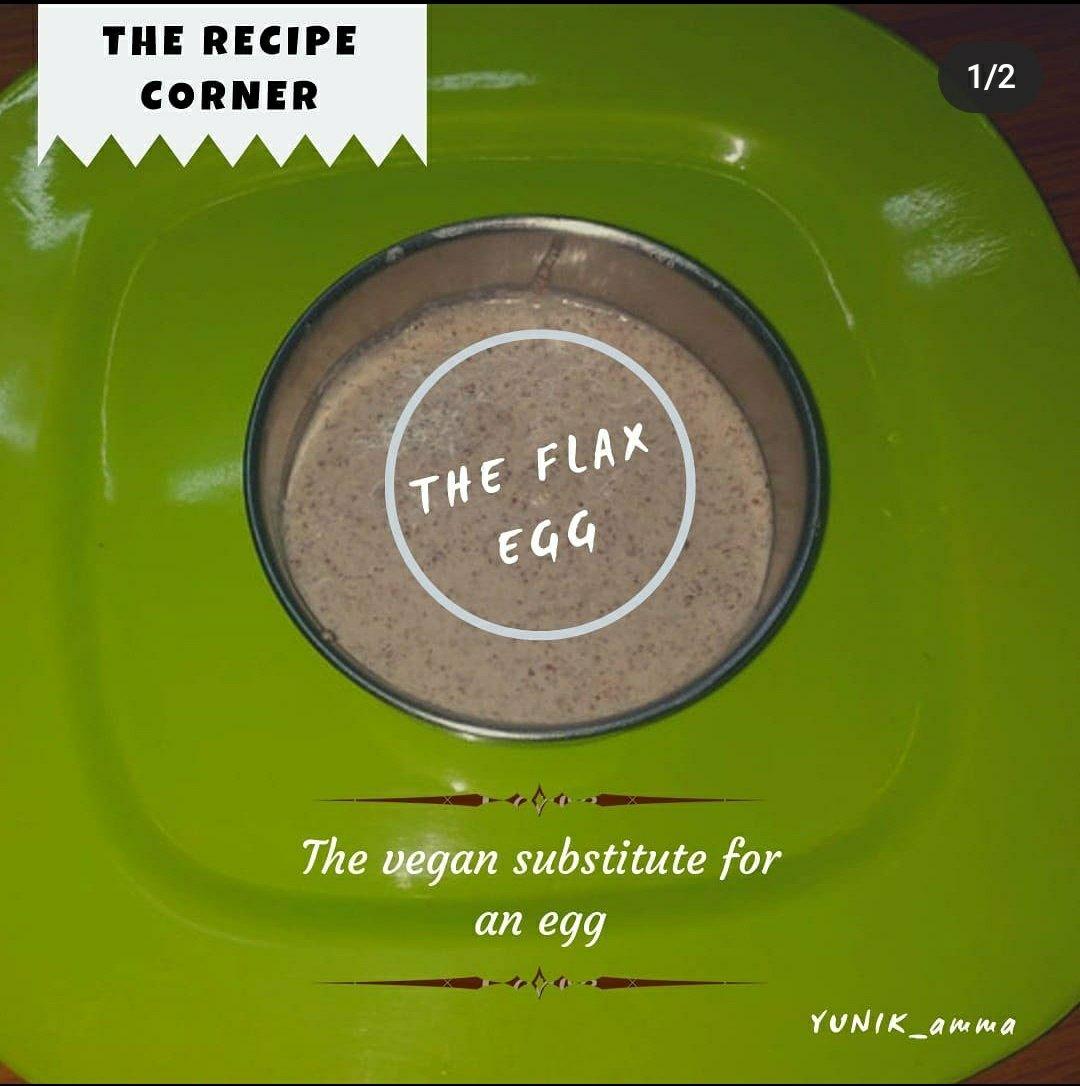The flax egg