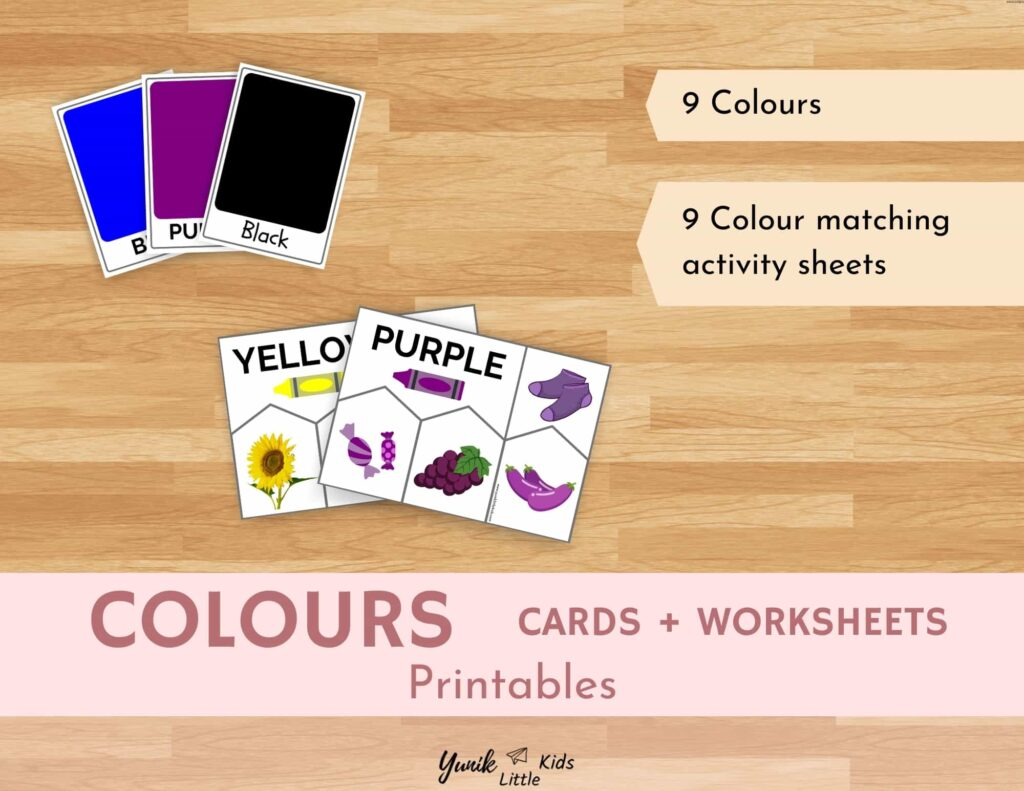 Colors Activities & Flashcards