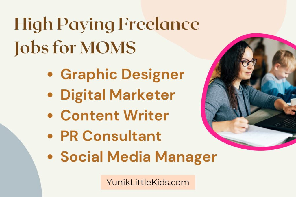 high paying freelance jobs for moms